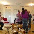 Klangtherapie Ausbildung im Caritas-Seniorenzentrum St. Anna 2016